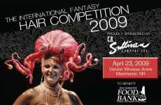 Feathery Finery Wins International Fantasy Hair Contest