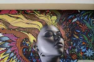 The Mac Infuses Modern Mural Art With Female Sensuality