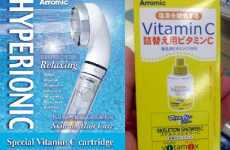 Vitamin Showers - Arromic Ion Shower Head Douses You With Vitamin C