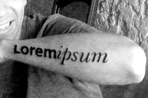 Nerd Jargon Tattoos