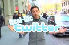 Real Life Twitter - CollegeHumor Video Proves Tweets Don't Translate Offline