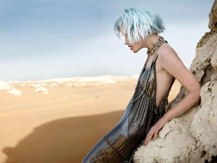 Futuristic Desert Editorials