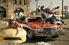 Cows as Action Heros - The Creatively Animalistic Photography of Mark Hotlhusen