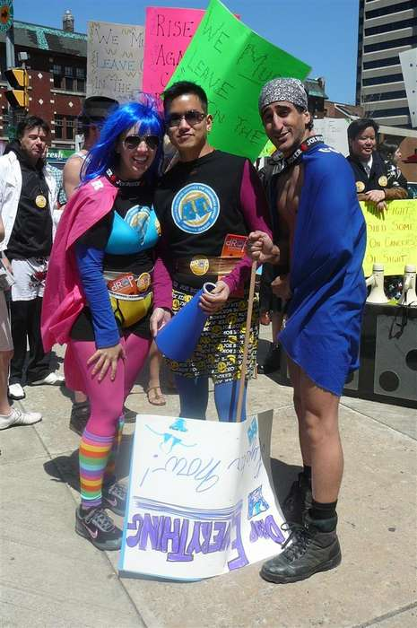 Funny Fake Protests - Toronto's North York General Hospital Underwear Affair