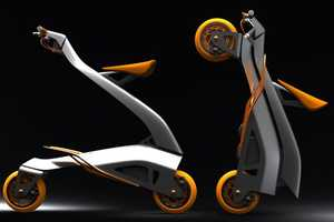 The Collapsible 'Zoomla' Bicycle by Eric Stoddard