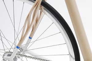Holzweg Bike Uses Ash Wood to Enhance Suspension
