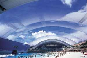 Japan's Fake Picture-Perfect Indoor Beach