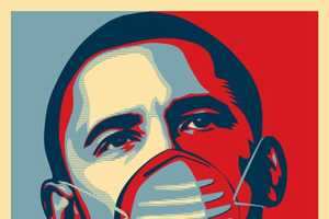 The Obama 'Cope' With H1N1 Poster