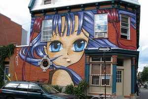 Manga Graffiti from All Over the World