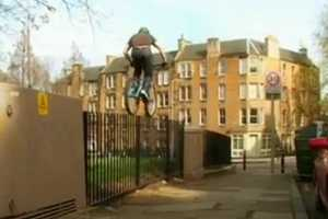 Danny MacAskill of Inspired Bicycles Shows Off His Skills