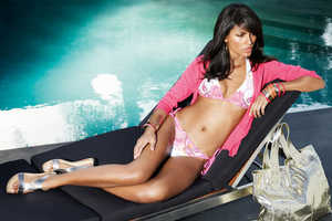 Emanuela de Paula Gets Comfortable for NEXT S/S '09