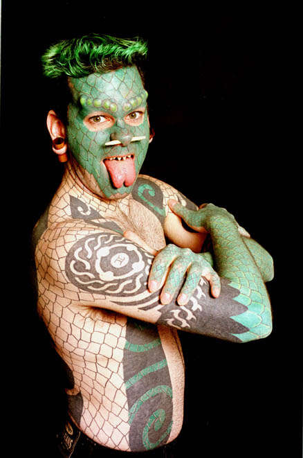 Reptilian Body Mods