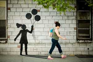 Katie Sokoler's Playful Street Art Project