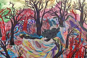 Carl Baratta's Paintings Mimic Strange Colourful Dreams