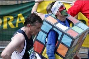 Athletes Turn London Marathon Into Sweaty Costume Parade