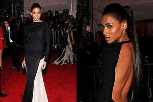 Ciara Rocks the Costume Institute Gala in Two-Tone Number