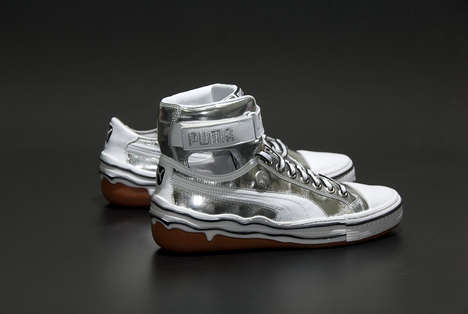 Platinum Sneakers