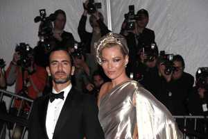 Kate Moss Rocks Grecian Minidress at Costume Institute Gala