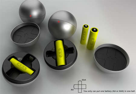 Energy Pods - Kinetic Exercise Ball Charges Batteries Just By Playing Catch or Juggling