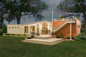 The Clayton i-House Features Gas Station Architecture, Luxury Qualities