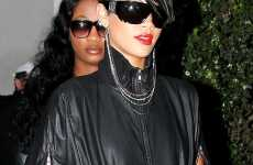 Accessory Hybrids - Rihanna Rocks the Earring Necklace