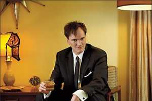 Quentin Tarantino Rocks High Heel Shoes for NYT Magazine