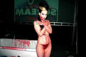 Blood Bath & Zombie Parties at the Fangoria Show
