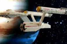 Trekker Modelmania - Sampling of Lego Star Trek Ships and Sci-Fi Transportation