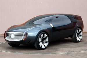 Futuristic MGX Ondelios Car is Shaped by the Wind