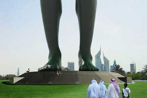 Arabic Storyteller of Giant Proportions in Dubai by VisionDivision