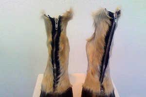 Iris Schieferstein's Bizarre Horse Hoof Boots (UPDATE)