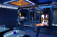 Geekchitecture - Tony Alleyne's Star Trek Home Is Entirely Voyager Themed