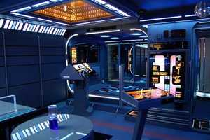 Tony Alleyne's Star Trek Home Is Entirely Voyager Themed