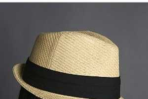 Unisex Straw Fedoras Are Made For  Shade
