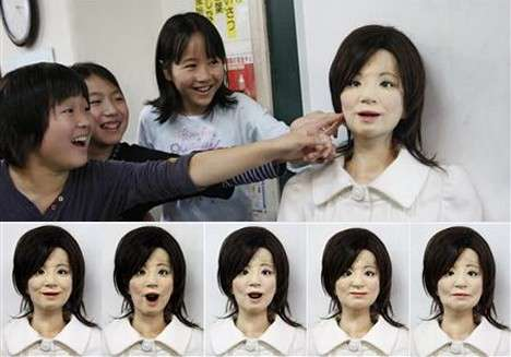 Substitute Teacher Robots - Saya the Humanoid Could Be Your Child's Future Teacher