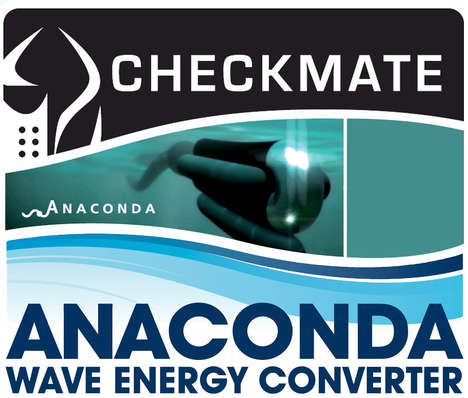 Swimming Power Plants - Checkmate Group's 500 ft Anaconda Creates Electricity from the Ocean