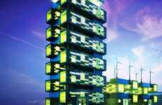 Organic Skyscrapers - Food Growing, Energy Producing Harvest Green Tower