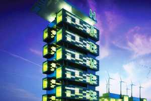 Food Growing, Energy Producing Harvest Green Tower