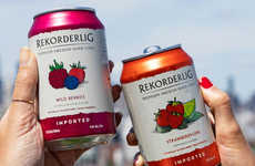 Vegan Fruit-Infused Ciders - Rekorderlig Debuts Seven New Vegan Apple and Pear Ciders