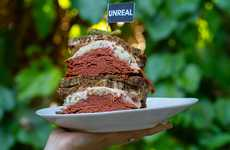 Vegan Corned Beef Sandwiches - Whole Foods Launched Mrs. Goldfarb's Unreal Deil's Vegan Corn Beef