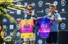 Ocean-Protecting Campaigns - The World Surf League Launched the New 'Glowing Glowing Gone' Campaign