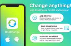 Exchange-Specific Trading Apps - The OneChange App Allows Users to Trade Old Items With Others