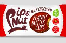 Ethically-Sourced Nut Cup Snacks - Pip & Nut Unveiled Three New Flavors of Peanut Butter Cups