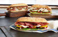 Charitable QSR Meal Donations - Subway Fights Hunger in Honor of National Sandwich Day