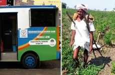 Rural Mobile Banking Solutions - Karnataka Gramin Bank Launched Mobile ATMs in Rural India Areas