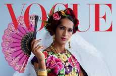 Indigenous Transgender Woman Ambassadors - Vogue Mexico Featured a 'Muxe' Woman on Its Cover