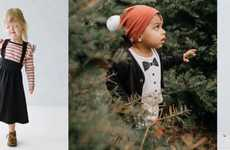 Ethical Canadian Child Apparel - Little & Lively Boasts Ethically-Made Apparel for Children