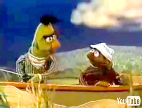 Remixing Awesome - Bert and Ernie on a Boat