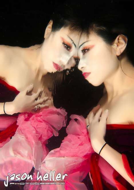 Underwater Geisha - The Provocative Photography of Jason Heller