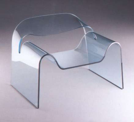 Clear Furniture - Fiam Italia Makes Glass Chic for Small Space Living